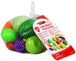 Playgo Zöldség és gyümölcskészlet hálóban
