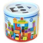 Woodyland ABC és számos pasztell színű építőkockák