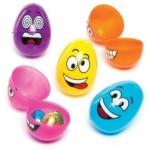 Baker Ross Set 12 oua din plastic Funny Face - Baker Ross (AAD BKAC616) Bucatarie copii