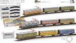 Pequetren Set Trenulet electric calatori colorat (SE8412514002029) Trenulet