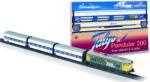 Pequetren Set trenulet electric calatori Talgo Pendular 200 cu macaz Trenulet