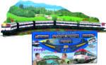Pequetren Set trenulet electric calatori Cercanias RENFE cu peisaj Trenulet