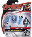 Hasbro Nick Fury vs Sub Ultron Figurina