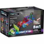 Laser Pegs Buldozer 8In1 Cu Lumini Laser (LAP_LPPB1420B)