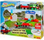 Mattel Fisher-Price Thomas Adventures Percy a mentőközpontnál (FBC57)