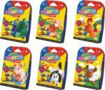 Colorino Kids Creative levegőre száradó habgyurma - tanyasi állatok (többféle változat)