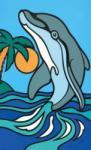Mammut Pictura pe Numere Delfin Carte de colorat