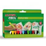ALPINO Set Crea textile creioane cerate (MS-PX000001)