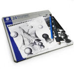 S Set creion grafit STAEDTLER Mars Lumograph, 24 buc/set