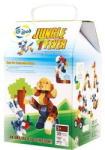 Gigo Connect a Cube Jungle Fever - kocka építőjáték