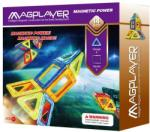 Magplayer Joc de Constructie Magnetic 14 Piese MPB-14 Jucarii de constructii magnetice