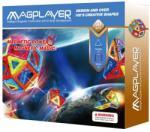 Magplayer Joc de Constructie Magnetic 30 Piese MPB-30 Jucarii de constructii magnetice