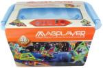 Magplayer Joc de Constructie Magnetic 48 Piese MPT-48 Jucarii de constructii magnetice