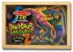 Melissa & Doug Dinozauri din lemn cu magneti (MD0476)