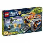LEGO Nexo Knights - Axl guruló arzenálja (72006)