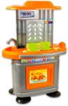 Mochtoys Chefs: bucătărie gri-portocalie 67 cm (MT 10325) Bucatarie copii
