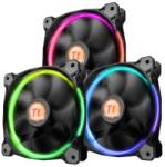Thermaltake Riing 12 LED RGB 120x120x25mm 3 Pack (CL-F042-PL12SW-B)
