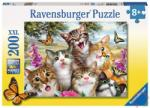 Ravensburger Mókás cicák XXL puzzle 200 db-os (12620)