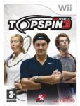 2K Games Top Spin 3 (Wii) Játékprogram