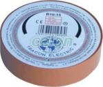 Tracon Electric Bandă izolatoare, maro - 10mx15mm, PVC, 0-90°C, 40kV/mm B10-15 - Tracon (TRA-B10-15)