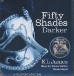 AUDIOBOOKS E. L. James: Fifty Shades Darker - Audio Book (16 CDs)