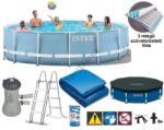 Intex Prism Frame Pool vízforgatós medence szett, fémvázas (2018) 457x84cm (26728)