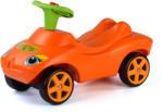 Wader lábbal hajtós autó hanggal, narancssárga, 69 cm