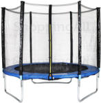 HORNsport 305cm trambulin védőhálóval