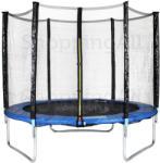 HORNsport 396cm trambulin védőhálóval
