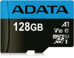 ADATA microSDXC Premier 128GB C10/UHS-I AUSDX128GUICL10A1-RA1