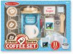 Melissa & Doug Fa kávéfőző szett (MD9842)
