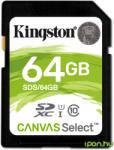 Kingston SDXC 64GB Class 10 SDS/64GB