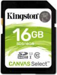 Kingston SDHC 16GB Ckass 10 SDS/16GB