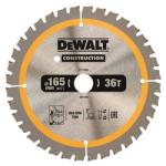 DeWALT Диск циркулярен HM за дърво ф165х 20х 1.5, z 36, DeWALT DT1950 (DeWALT DT1950)