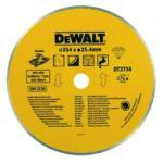 DeWALT Диск диамантен за мокро рязане на керамика ф254, DeWALT DT3734 (DeWALT DT3734)