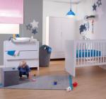 CHILDHOME Patut si Comoda de Infasat Quadro White (B120QNT KOQN)