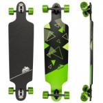 D-street Longboards Skate D Street Polygon Tri Drop Through verde (AAP. DST-COM-4000) Skateboard