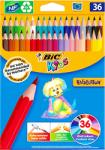 BIC Creioane colorate 36 culori Bic Evolution 499140 (950526)