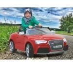 Jamara Toys Masinuta Electrica Copii Audi Rs5 Rosie 12v Cu Telecomanda Control Parinti 2.4 Ghz Si Mp3 Player Cu Card Memorie Sd Inclus - Jamara (ja405041)