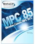 Natural Nutrition MPC85 Micellar Casein - 1000g