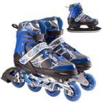 Wildstar ABEC-7 görkorcsolya/korcsolya, Alumínium, 39-42, Kék