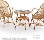 HALMAR HAL5000553_HAL5000554_x2 WICKER natúr színű 2+1 terasz bútor garnitúra