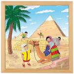 Heutink Puzzle Minunile Lumii - Piramidele - Educo (E523265)