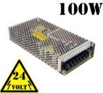 Optonica 100W Led tápegység (24V, 4.2A, fém házas ipari, sorkapocs csatlakozó) (6151)