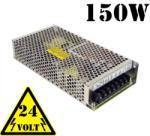 Optonica 150W Led tápegység (24V, 6.25A, fém házas ipari, sorkapocs csatlakozó) (6155)