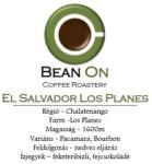 BEAN ON El Salvador Los Planes szemes kávé 250g