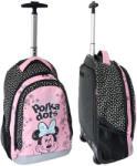 Disney Minnie Egeres trollis iskolatáska - rózsaszín/fekete