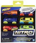 Hasbro Nerf Nitro autó 6 db-os (hbC3171)
