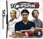 2K Games Top Spin 3. (Nintendo DS) J�t�kprogram
