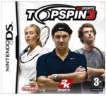 2K Games Top Spin 3 (Nintendo DS) Játékprogram